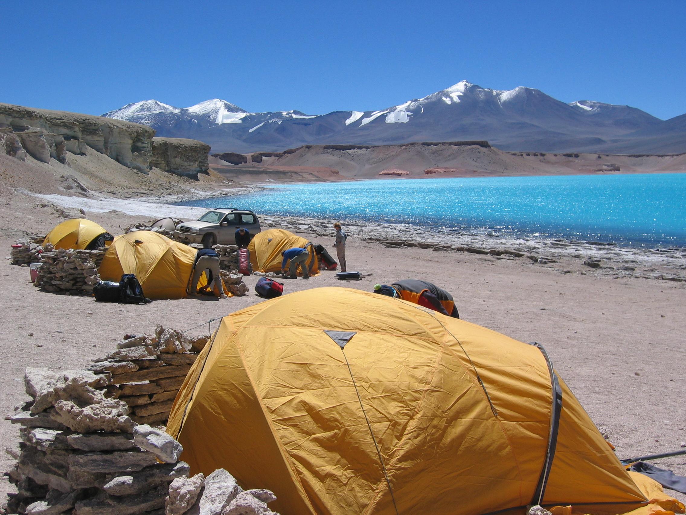 Camping gaviota laguna verde